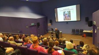 Pic of Bishop Roger speaking